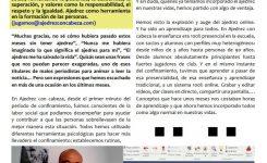 AJEDREZ CON CABEZA en la revista AJEDREZ SOCIAL Y TERAPÉUTICO.