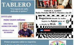 ENTREVISTA A AJEDREZ CON CABEZA EN RADIO ARGENTINA