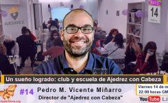 """ENTREVISTA: """"Un sueño logrado: club y escuela de Ajedrez con Cabeza"""""""